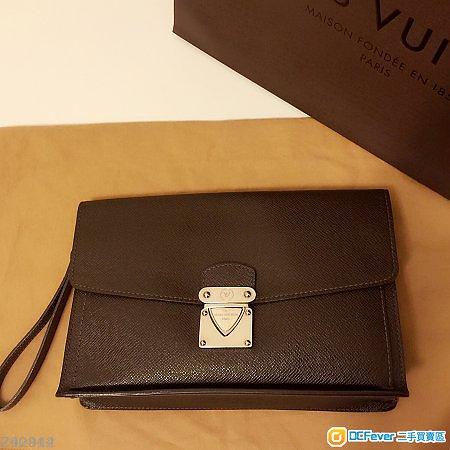 LV Louis Vuitton Men clutch - 路易威登 真皮 男士 手拿包 Prada Hermes