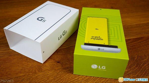 【全新未開封】LG G5 (32GB/4GB,金/銀/灰/粉,港版上台機,有單據,有保養,未開封)