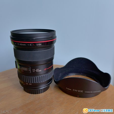 CANON EF 17-40mm f/4.0  L