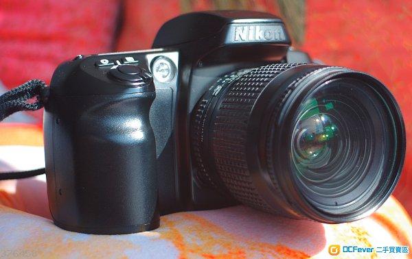 Nikon F60D SLR Camera+ Nikon AF 28-80/3.5-5.6