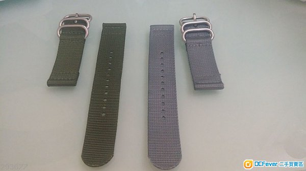 全新尼龍錶帶 22mm nylon strap for rolex panerai tudor seiko casio