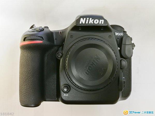 Nikon D500 Body 行貨有保全套齊