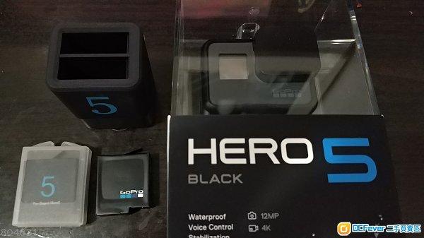 Gopro hero 5 black + 電池組合