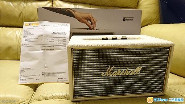 Marshall Acton bluetooth speaker (白色)