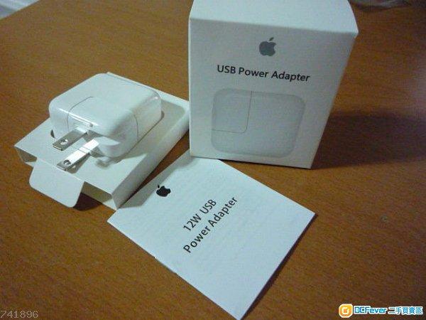 全新原廠正品 Apple iPhone/iPad 12W.2A USB 充電火牛(有包裝盒)