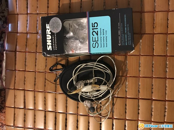 Shure SE215 sound isolating earphone