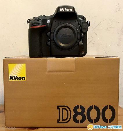 Nikon D800 行 Made in Japan
