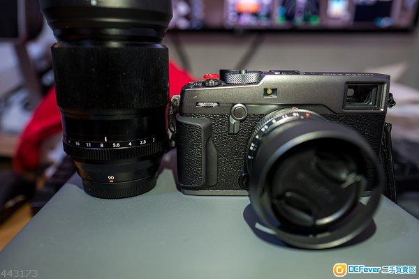 Fujifilm X-Pro2 Graphite Edition 石墨灰 / FUJINON XF90mm F2 R LM WR