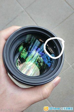 Sigma 85mm 1.4 DG EX nikon mount (not Art) ****壞AF**** 賤賣