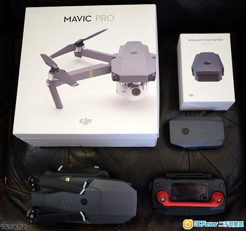 99%new DJI Mavic Pro w/DJI Care