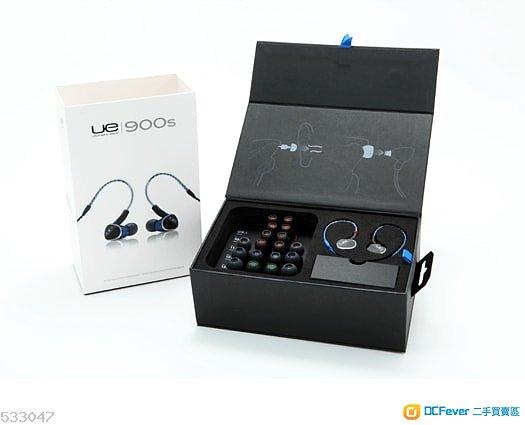 Ultimate Ears UE900S 四動鐵專業耳機 (非Shure 425 535 846)