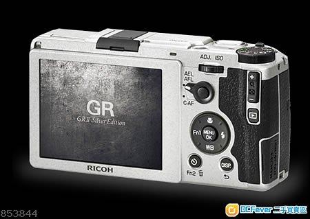 RICOH GR系相機鏡頭伸縮故障(卡住)、開機MON全黑、光圈帶維修