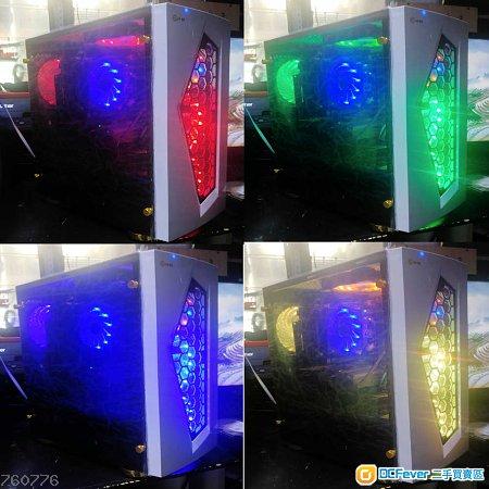 i5-3570k+GTX760-2g+240G-SSD變色散熱套裝
