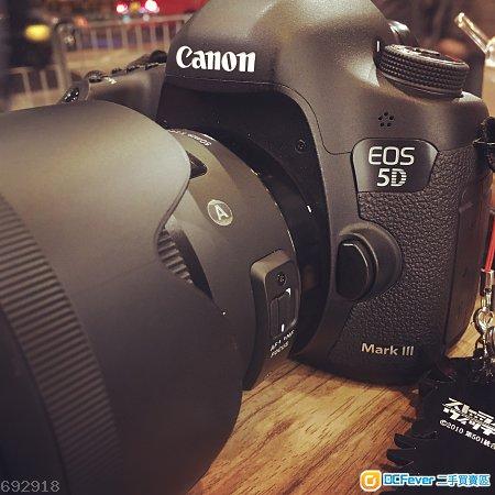 Canon 5D mark iii 5D3 Sigma 50 f/1.4 art