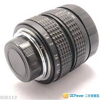 FUJIAN CCTV 35MM F1.7(FOR E / M43 / FUJI / PQ/ NIKON 1 / EOSM)