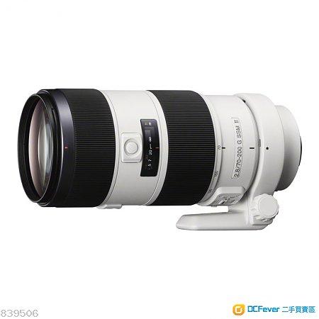 Sony α SAL70200G2 70-200mm F2.8 G SSM II