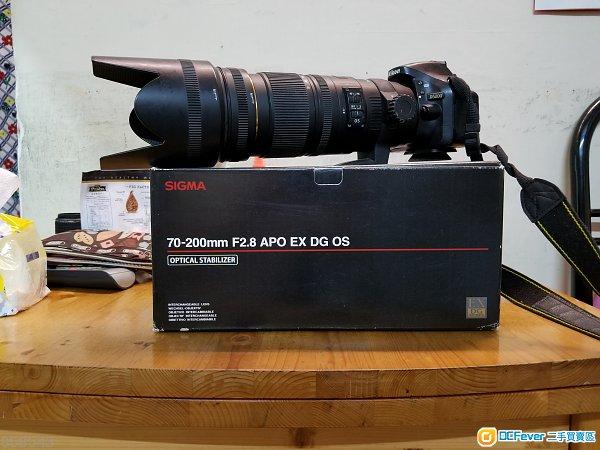 Sigma 70-200mm f/2.8 APO EX DG OS (Nikon mount)
