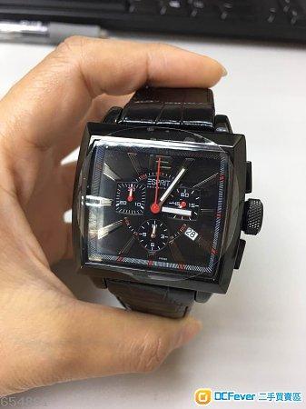 全新Esprit 男裝黑色皮錶