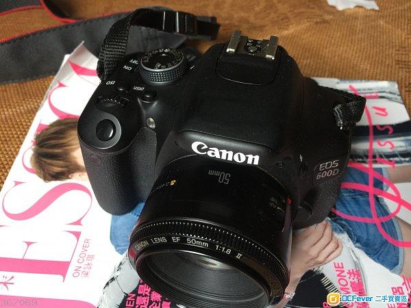 90% 新 Canon 600D (只售機身),3 吋大芒,反芒。冇盒,跟原廠電池,充電器。