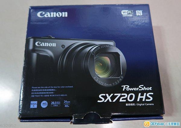售Canon SX720 HS (24mm超廣角40倍光學變焦卡片型天涯小長炮DC仔)