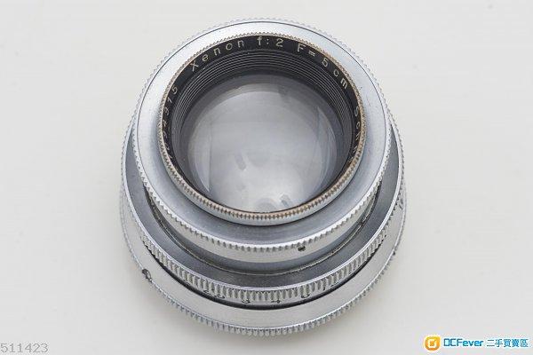 稀有早期戰前版本 全銅 Schneider XENON 5cm 50mm f/2 (EXA)