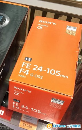 Sony FE 24-105mm F4 G OSS (25105G)