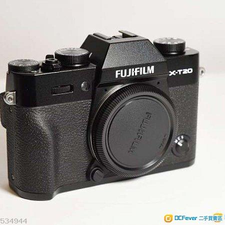 Fujifilm X-T20 黑色機身 極新行貨 全套有年半保養