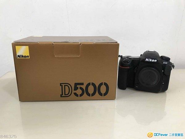 Nikon D500 連 Sony 64GB XQD咭