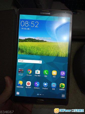 99%新Samsung Galaxy Tab S T705 4G版行貨有問題