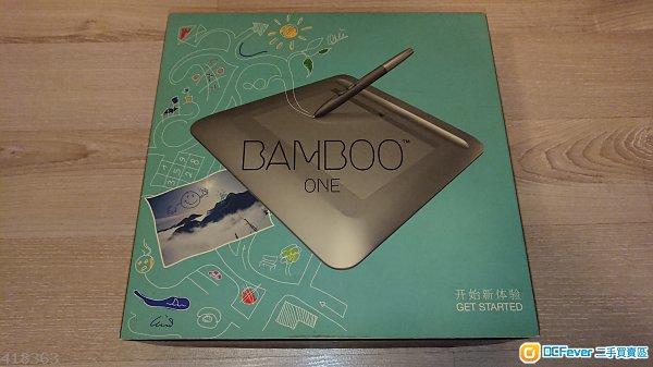 Wacom Bamboo One 繪圖板 超新淨