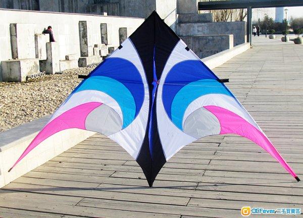 大型天眼旋风三角风筝连10米飘带 kite 适合家庭玩乐及拍拖玩乐好去处