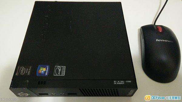 出售 Lenovo ThinkCentre M93P tiny i5 4570T 4G 320G HDD 85 New
