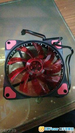 红色led 12cm 机箱风扇