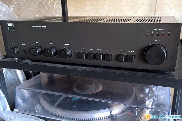 经典平靓正合并扩音机首选 nad3020b 最尾期 有mm mc phono 改良