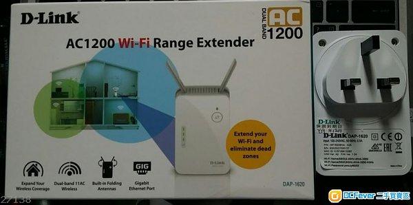 d-link dap-1620 ac1200 wifi extender 无线延伸器