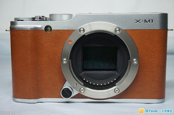 fujifilm x-m1 body 送 pixco ef-fx 转接环