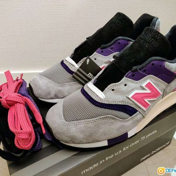 huge discount 489f4 acd8c Kith x United Arrows & Sons x nonnative x New Balance 997 ...
