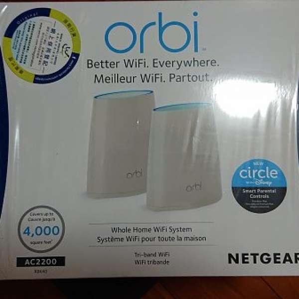 Netgear Orbi RBK40 Tri Band Mesh Wifi System Kit - DCFever com