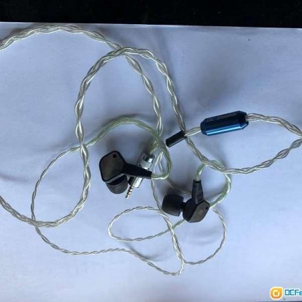 IE80 headphone with OC Studio zeus 4 wire cables - DCFever.com