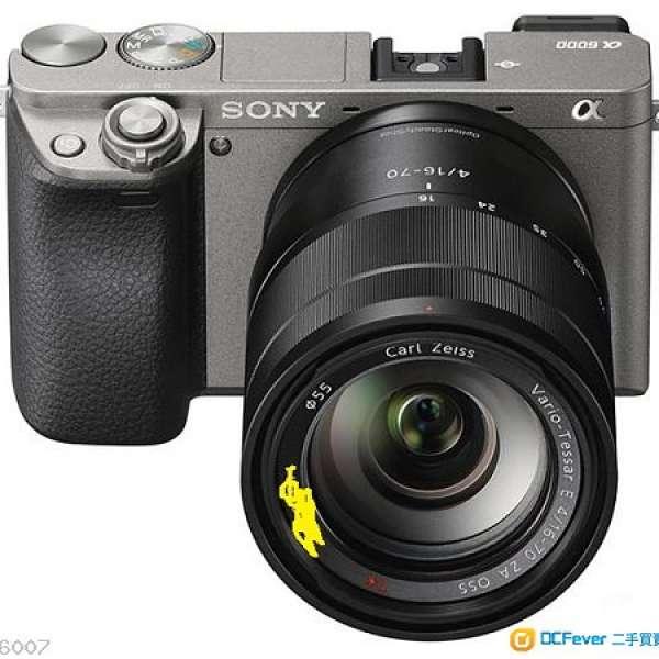 Sony A6000 碳灰色