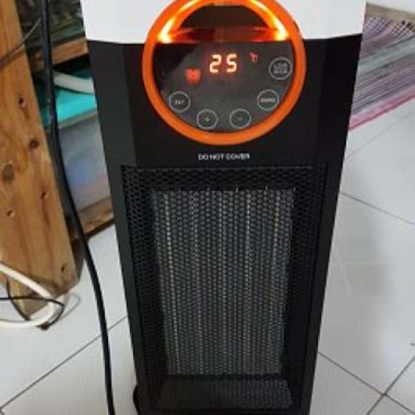 deer德爾牌DH5201 陶瓷暖風機2000W 注意