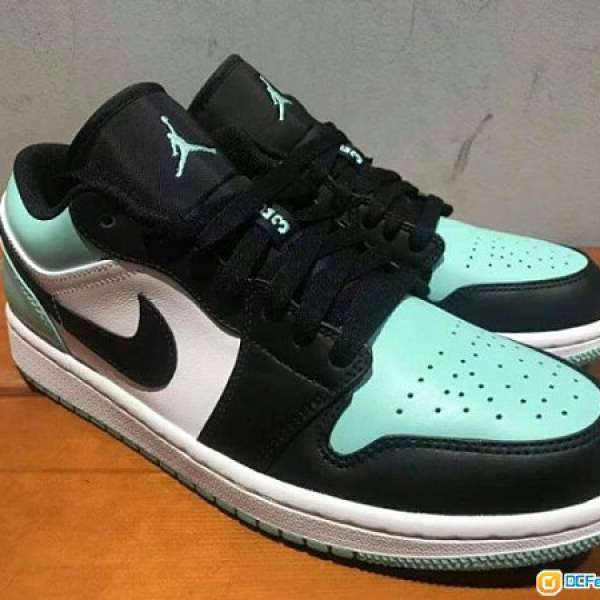 4be3881f09d1 Air Jordan 1 Low US12   US10.5 Tiffany Barons Shadow AJ1 Nike OG 薄荷綠-  DCFever.com