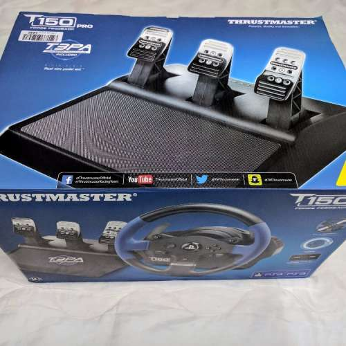 Thrustmaster T150RS Pro Wheel, TH8A Shifter (better than T150, G29