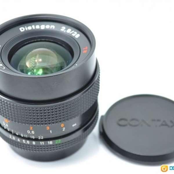 Contax Carl Zeiss 28mm F2 8 MMJ - DCFever com