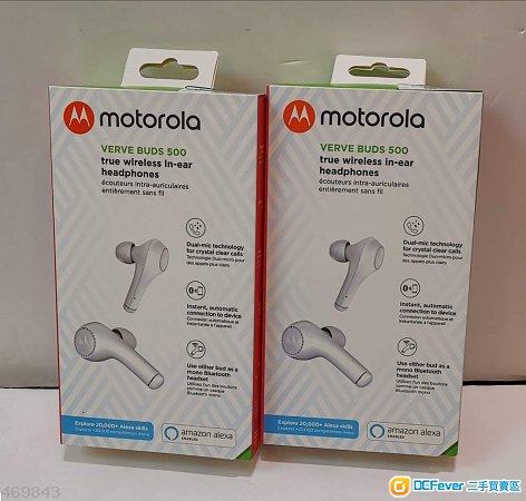 100%全新Motorola Verve Buds 500 真無線藍牙耳機- DCFever com