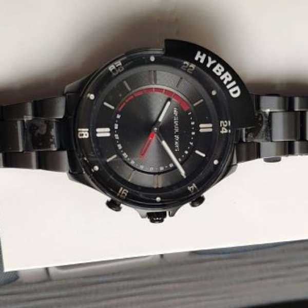 554870ac288a MICHAEL KORS Reid Stainless Black Smartwatch MKT4015 - DCFever.com