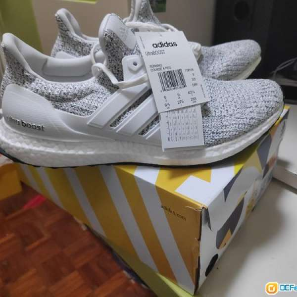 uk availability f0518 e8e66 全新adidas Ultra Boost 4.0 Non Dyed UK 9 US9.5 購自wiggle 有 ...