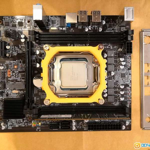 x79主機板連Xeon E5-2609v2+8g ram reg ecc - DCFever com