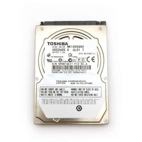 "Toshiba  MK1655GSX 160GB 2.5/"" SATA II Laptop Hard Drive"