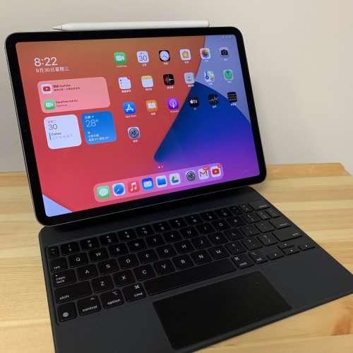 iPad Pro 11吋 2020 128GB WiFi + Magic Keyboard + Apple ...